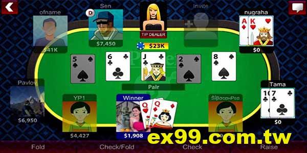 風靡全球的德州撲克怎麼玩?